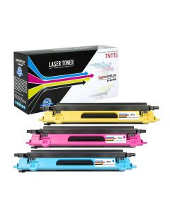 CBTN115-3P | Brother TN115 Compatible Toner Cartridge 3-Pack (1 each C/M/Y) ..