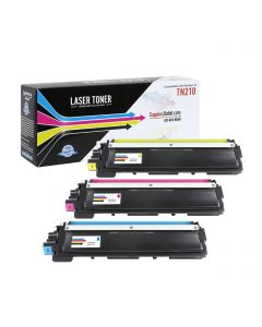 CBTN210-3P | Brother TN210 Compatible Toner Cartridge 3-Pack (1 each C/M/Y) ..