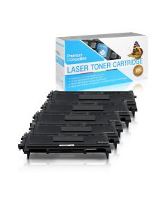 CBTN350JVB | Brother TN350 Compatible Jumbo Toner Cartridge 5-Pack
