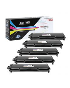 SOBTN350VB | Brother TN350 Compatible Toner Cartridge 5-Pack