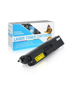 CBTN433Y | Brother TN433Y Compatible Yellow Toner Cartridge