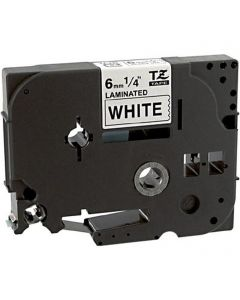CBTZ211 | Brother TZe211 Compatible Black On White P-Touch Label Tape