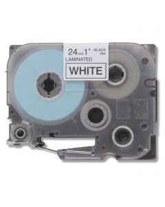 CBTZ251 | Brother TZe251 Compatible Black On White P-Touch Label Tape
