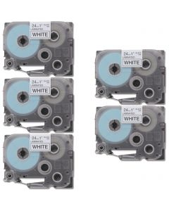 CBTZ251VB | Brother TZe251 Compatible P-Touch Label Tape 5-Pack