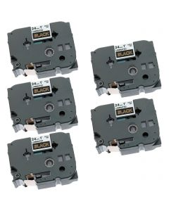 CBTZ354VB | Brother TZe354 Compatible P-Touch Label Tape 5-Pack