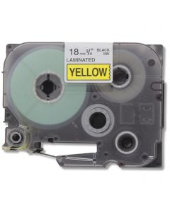 CBTZ641 | Brother TZe641 Compatible Black On Yellow P-Touch Label Tape