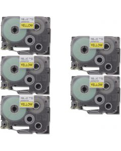 CBTZ641VB | Brother TZe641 Compatible P-Touch Label Tape 5-Pack