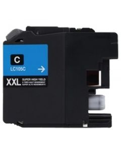 CLC105C | Brother LC105C Compatible Cyan Ink Cartridge