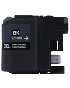 CLC107BK | Brother LC107BK Compatible Black Ink Cartridge