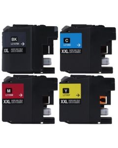 CLC107VB-2 | Brother LC107/LC105 Compatible Ink Cartridge 4-Pack