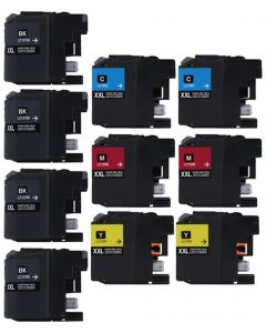 CLC107VB | Brother LC107/LC105 Compatible Ink Cartridge 10-Pack