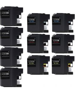 CLC203VB | Brother LC203 Compatible Ink Cartridge 10-Pack