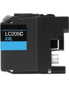 CLC205C | Brother LC205C Compatible Cyan Ink Cartridge
