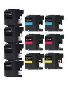 CLC205VB | Brother LC203/LC205 Compatible Ink Cartridge 10-Pack