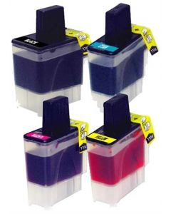 CLC41VB-2 | Brother LC41 Compatible Ink Cartridge 4-Pack