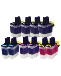 CLC41VB | Brother LC41 Compatible Ink Cartridge 10-Pack