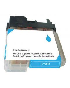 CLC65C | Brother LC65C Compatible Cyan Ink Cartridge