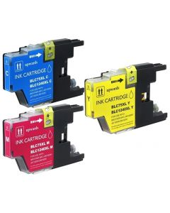 CLC753PKS | Brother LC75 Compatible Ink Cartridge 3-Pack