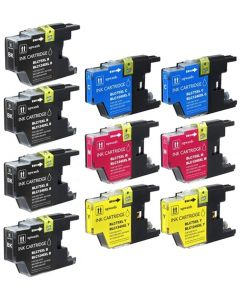 CLC75VB | Brother LC75 Compatible Ink Cartridge 10-Pack