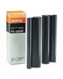 PC302RF | Genuine Brother PC302RF Thermal Transfer Refill Rolls 2-pack - OEM