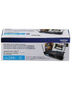 TN339C | Genuine Brother TN339C Extra High Yield Cyan Toner Cartridge - OEM