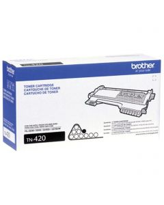 TN420 | Brother OEM TN-420 Black Laser Toner Cartridge 1,200 PG Yield