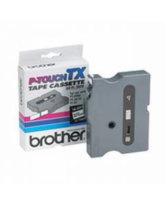 "TX2311 | Brother TX2311 OEM Black On White P-Touch Label Tape 1/2x"" x 50'"