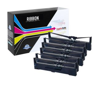 CRS015329-6P | Compatible Epson S015329 Black Printer Ribbon 6 Pack