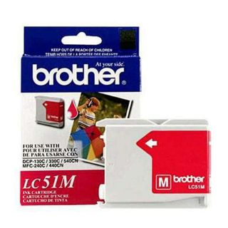 LC51M | Brother LC51M OEM Magenta Ink Cartridge