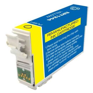 RT124420 | Epson T124420 Remanufactured Yellow Pigment Ink Cartridge