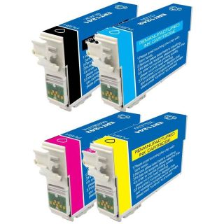 RT124VB-2 | Epson T124 Remanufactured Ink Cartridge 4-Pack Value Bundle